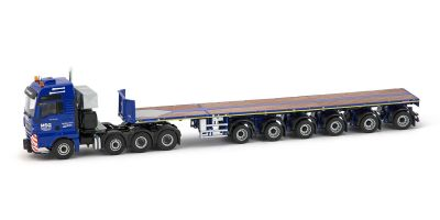 IMC Models 1/50scale MSG MAN TGX 8x4 with 6 axle Nooteboom Ballasttrailer  [No.IMC310027]