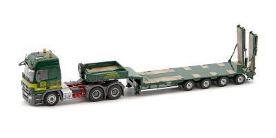 IMC Models 1/50scale Thomen MB Actros MP3 L-cab 6*4 & Goldhofer 4 axle Semi low loader  [No.IMC330010]