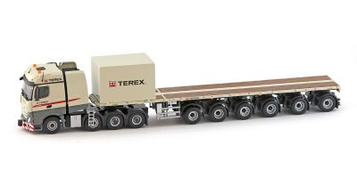 IMC Models 1/50scale Terex Mercedes-Benz Actros 2 Big space 8×4 6axle Nooteboom Ballast trailer  [No.IMC330054]