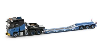 IMC Models 1/50scale H2 Mercedes Arocs 8x4 Goldhofer 3-Axle Low Loader  [No.IMC330058]