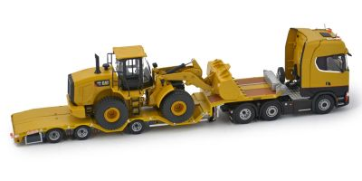 IMC Models 1/50scale Scania S Highline 6x2 & Nooteboom OSDS44-003 WEB & Cat 950GC With Wheel Loader  [No.IMC330073]