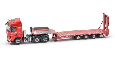 "IMC Models 1/50scale Mercedes Benz Arocs Stream Space Goldhofer 4Axle Semi Low Loader ""SCHOLPP"" limited to 100 units  [No.IMC330097]"