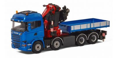 IMC Models 1/50scale Scania Streamline Highline 8 × 4 Fassi F1100RA Crane & Ballast Box w/Truck  [No.IMCF-1]