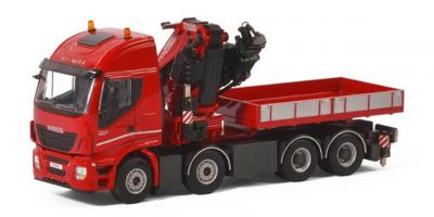 IMC Models 1/50scale Ibeco Stralis Highway 8 × 4 Fassi F1100RA Crane & Ballast Box w/Truck  [No.IMCF-4]