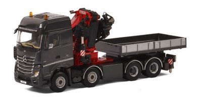 IMC Models 1/50scale Mercedes-Benz Actros MP4 Big Space 8 × 4 Fassi F1100RA Crane & Ballast Box w/Truck  [No.IMCF-5]