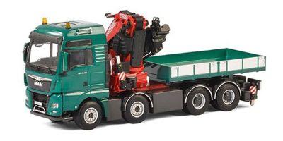 IMC Models 1/50scale MAN TGA XXL Euro 6 8 x 4 Fassi F1100RA Crane & Ballast Box w/Truck  [No.IMCF-6]