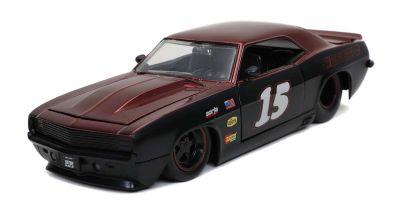 JADA TOYS 1/24scale 1969 Chevy Camaro Black / Dark Red  [No.JADA30303]