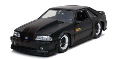 JADA TOYS 1/24scale 1989 Ford Mustang GT Black  [No.JADA30304]