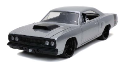 JADA TOYS 1/24scale 1970 Plymouth Road Runner Silver  [No.JADA30306]