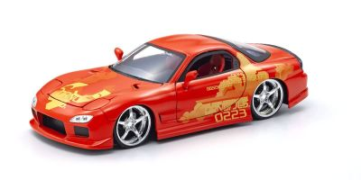 JADA TOYS 1/24scale F & F Mazda RX-7 (Orange) Orange Julius  [No.JADA30747]