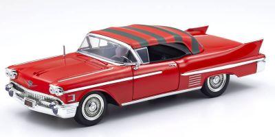 JADA TOYS 1/24scale Cadillac 1958 Freddy Kruger with figure (Nightmare on Elm Street)  [No.JADA31102]