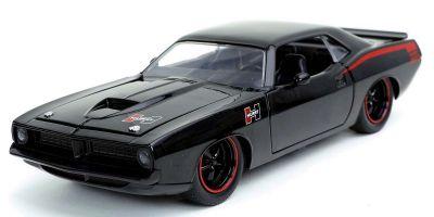 JADA TOYS 1/24scale 1973 Plymouth Barracuda Gross Black  [No.JADA31460]