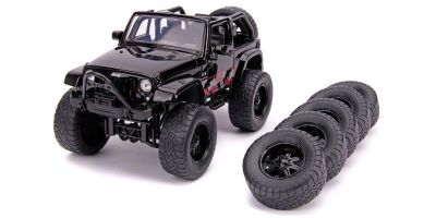 JADA TOYS 1/24scale 2007 Jeep Wrangler (Black / Graphics)  [No.JADA31560]
