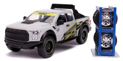 JADA TOYS 1/24scale 2017 Ford F-150 Raptor (Gray / Graphics)  [No.JADA31561]