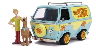 JADA TOYS 1/24scale Mystery Machine Scooby & Shaggy with Figure (Scooby Do)  [No.JADA31720]