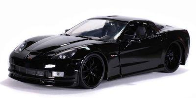 JADA TOYS 1/24scale 2006 Chevy Corvette Z16 Gloss Black  [No.JADA31862]