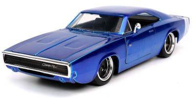 JADA TOYS 1/24scale 1968 Dodge Charger Blue  [No.JADA31865]