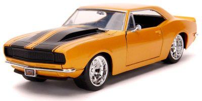 JADA TOYS 1/24scale 1967 Chevy Camaro Gold  [No.JADA31866]