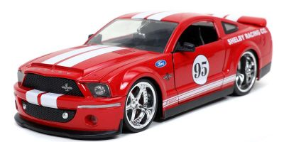 JADA TOYS 1/24scale 2008 Ford Mustang Shelby GT500KR # 95 Candy Red  [No.JADA31867]
