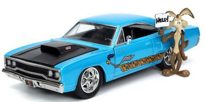 JADA TOYS 1/24scale 1970 Plymouth Road Runner Wile E. Coyote with Figure (Looney Tunes)  [No.JADA32038]
