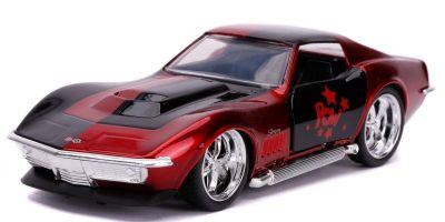 JADA TOYS 1/32scale 1969 Corvette Stingray Harley Quinn  [No.JADA32095]