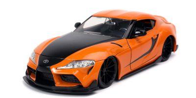 JADA TOYS 1/24scale F & F (9) 2020 Toyota Supra Orange / Black (Han)  [No.JADA32097]