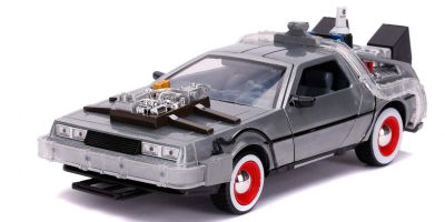 JADA TOYS 1/24scale Back to the Future Part III Time Machine (Delorian)  [No.JADA32166]