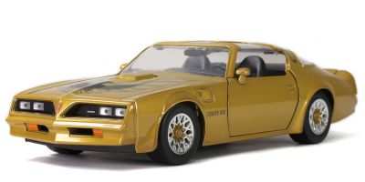 JADA TOYS 1/24scale 1977 Pontiac Firebird Trans Am Gold  [No.JADA32302]