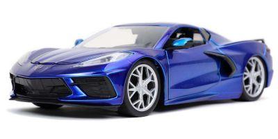 JADA TOYS 1/24scale 2020 Chevy Corvette Stingray Candy Blue  [No.JADA32537]