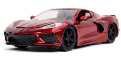JADA TOYS 1/24scale 2020 Chevy Corvette Stingray Candy Red  [No.JADA32538]