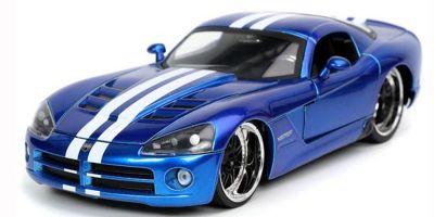 JADA TOYS 1/24scale 2008 Dodge Viper SRT10 Candy Blue  [No.JADA32726]