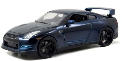 JADA TOYS 1/24scale F & F (7) Nissan GT-R R35 Blue / Black (Brian)  [No.JADA97036]
