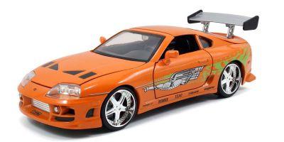 JADA TOYS 1/24scale F & F Toyota Supra Orange (Brian)  [No.JADA97168]