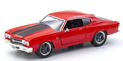 JADA TOYS 1/24scale F & F Chevy Chevelle SS (Red) Dominic Toretto  [No.JADA97193]