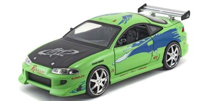 JADA TOYS 1/24scale F & F Mitsubishi Eclipse Green / Graphics (Brian)  [No.JADA97603]