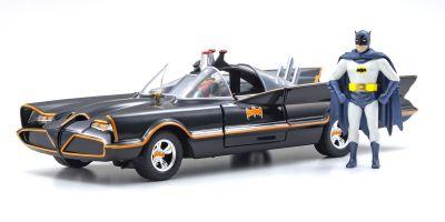 JADA TOYS 1/24scale Batmobile (classic TV series) with Batman figure  [No.JADA98259]