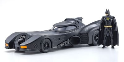 JADA TOYS 1/24scale Batmobile (Batman 1989) with Batman figure  [No.JADA98260]