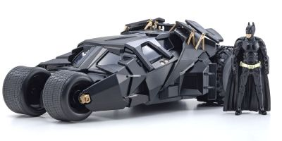 JADA TOYS 1/24scale Batmobile (Dark Knight) with Batman figure  [No.JADA98261]