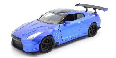 JADA TOYS 1/24scale F & F Nissan GT-R (R35) Ben Sopra Blue (Brian)  [No.JADA98271]