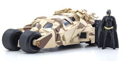 JADA TOYS 1/24scale Batmobile camouflage version (Dark Knight) with Batman figure  [No.JADA98543]
