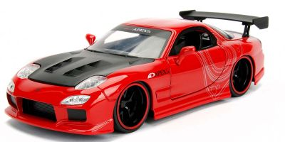 JADA TOYS 1/24scale 1995 Mazda RX-7 FD3S Red / Graphic  [No.JADA98568R]