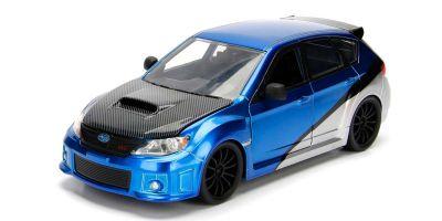 JADA TOYS 1/24scale F & F Subaru Impreza WRX STI Blue / Silver (Brian)  [No.JADA99514]