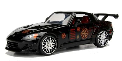 JADA TOYS 1/24scale F & F Honda S2000 (Black) Johnny Tran  [No.JADA99541]