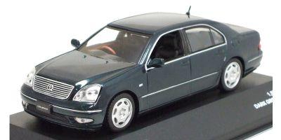 J-COLLECTION 1/43scale Toyota Celsior C 2001 Dark Green Mica [No.JC05062DG]