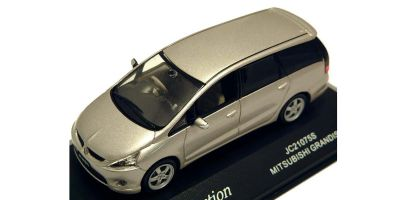 J-COLLECTION 1/43scale Mitsubishi Grandis Worm Silver Met. [No.JC21075S]