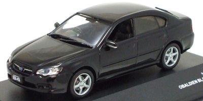 J-COLLECTION 1/43scale Subaru Legacy B4 2.0R 2005 Black Pearl [No.JC23066BK]