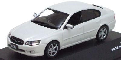 J-COLLECTION 1/43scale Subaru Legacy B4 2.0R 2005 White Pearl [No.JC23068WP]