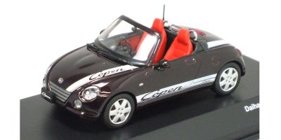 J-COLLECTION 1/43scale DAIHATSU COPEN With Sporty Logo Purple [No.JC30082PP]