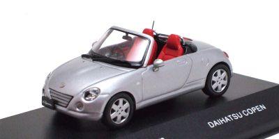 J-COLLECTION 1/43scale Daihatsu Copen Silver [No.JC30087S]