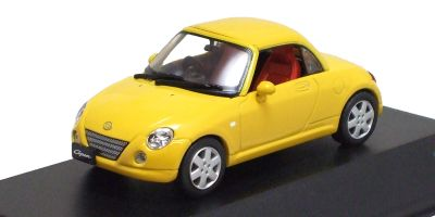 J-COLLECTION 1/43scale Daihatsu Copen (Close Roof) Yellow [No.JC30089Y]